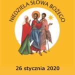 Niedziela Słowa Bożego, 26.01.2020r.