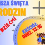 Mszy Św. rodzin z udziałem dzieci