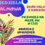 Niedziela Palmowa – dla Rodzin z dziećmi